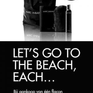 Marc Ibane zelfbruiner + handschoen + gratis beach bag